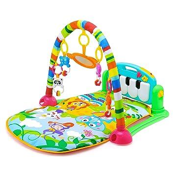 Tapis De Jeux Musical Leting Tapis Deveil Bébé Piano Gymini Kick