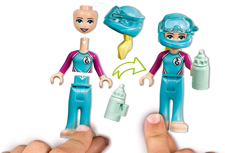 Fun Sea Life Playset with Kacey and Stephanie Minifigures ...