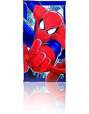 Spiderman Toalla Playa, Poliéster, Única