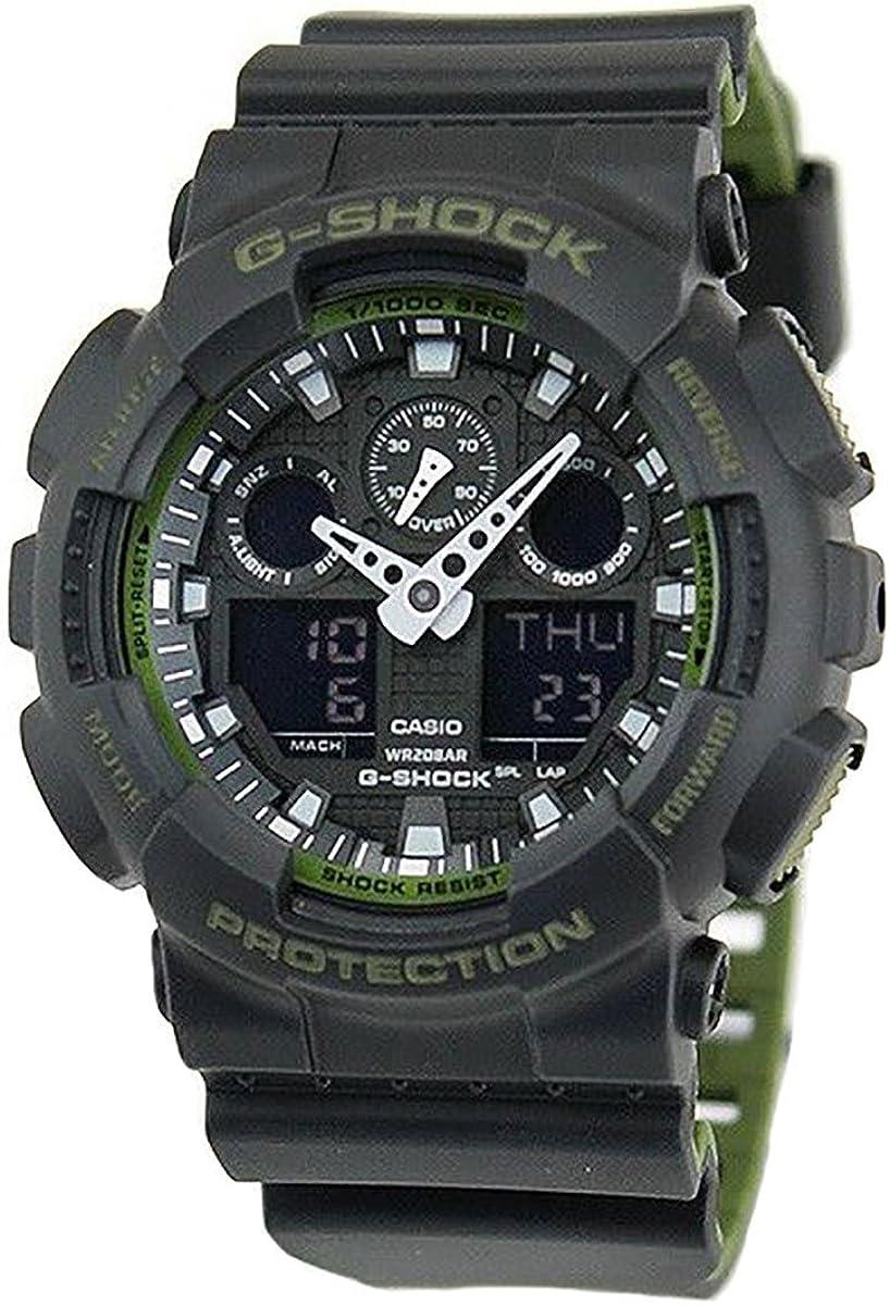 Casio De los hombres Watch G-SHOCK Reloj GA-100L-1A