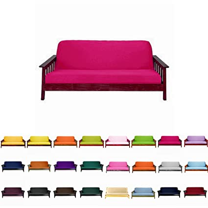 Amazoncom MagshionFuton Cover Slipcover Hot Pink Queen 60x80