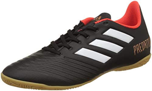 72e13ace9 Adidas Men s Predator Tango 18.4 in Cblack Ftwwht Solred Football Boots - 7  UK