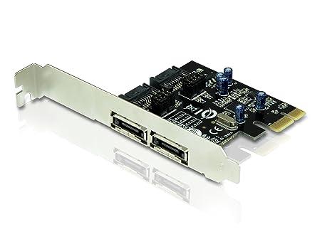 Conceptronic CSATA600EXI - Tarjeta PCI Express (SATA III, eSATA)