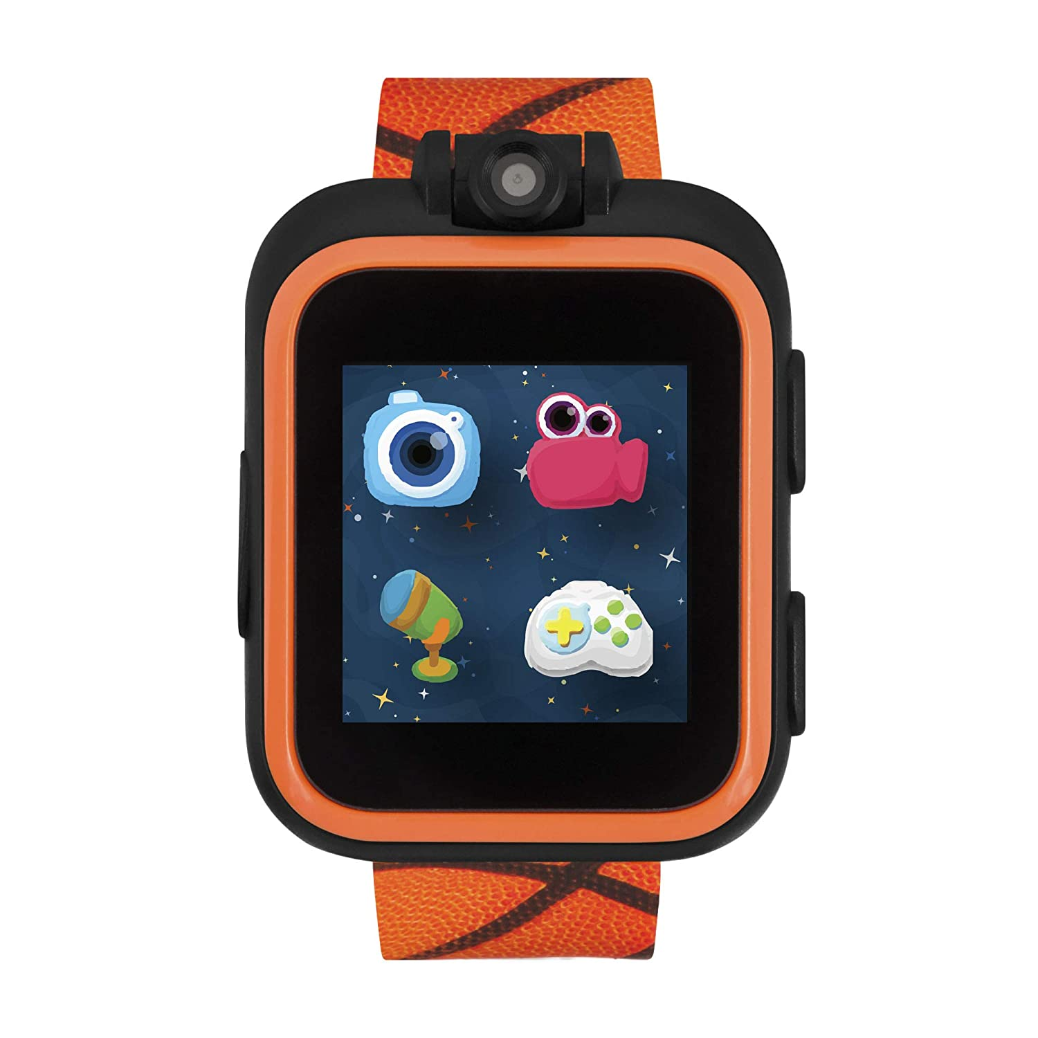 iTouch Playzoom Kids Smart Watch with Digital Camera and Video Recorder (Basketball)