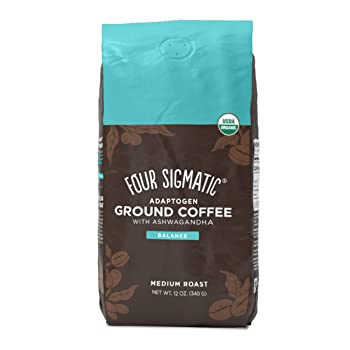 Four Sigmatic Ground Black Coffee