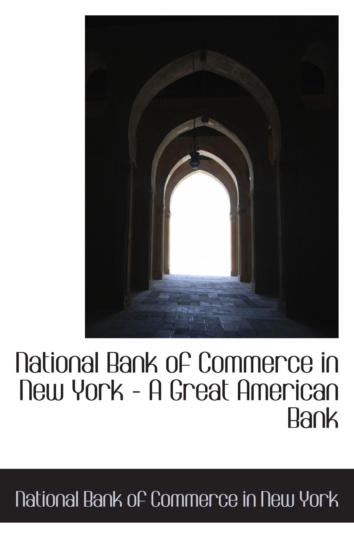 Download National Bank of Commerce in New York - A Great American Bank PDF