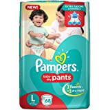 Pampers New Large Size Diapers Pants (68 Count)