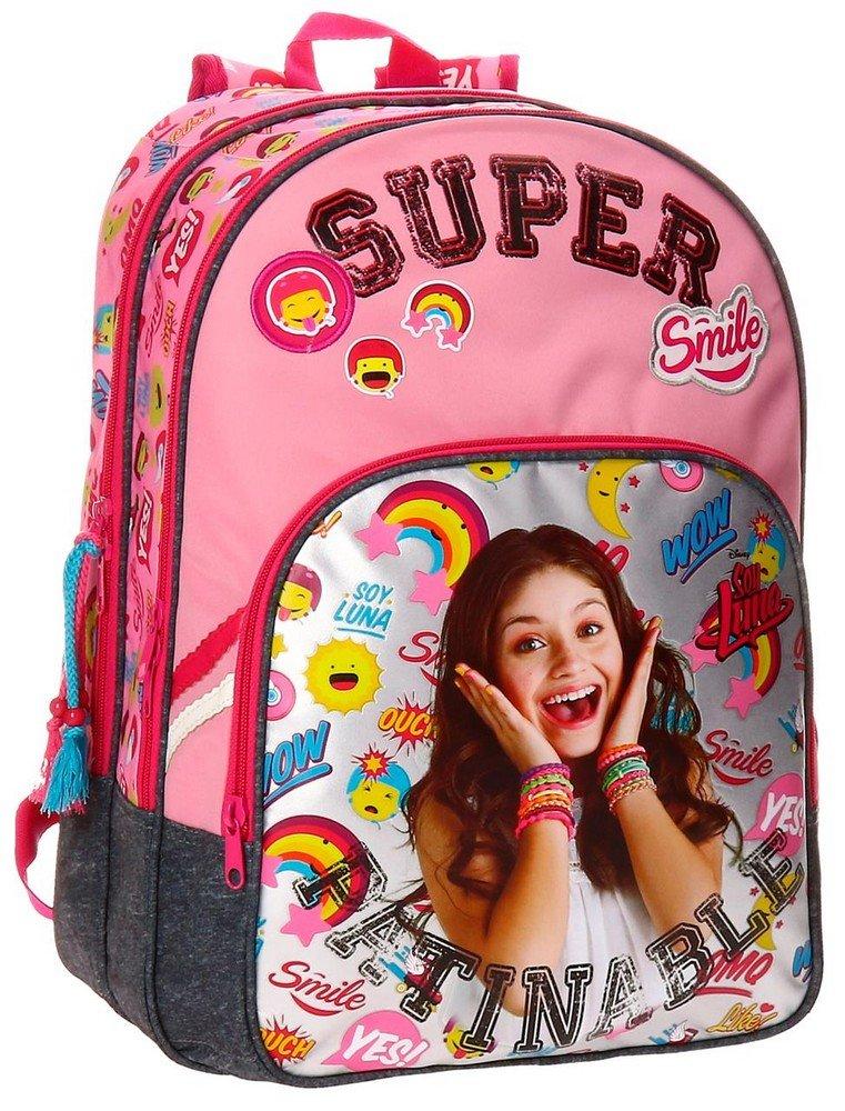 Disney 3472451 Soy Luna Smile Mochila Escolar, 40 cm, 19.2 litros: Amazon.es: Equipaje