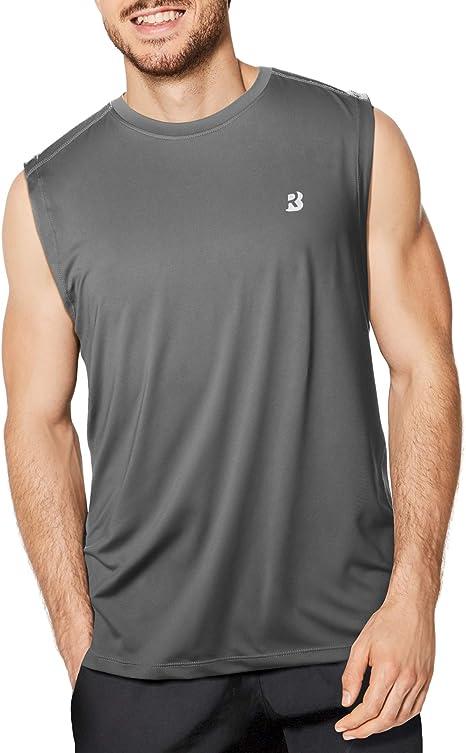 Amazon.com: Roadbox Camisas sin mangas de malla para hombre ...