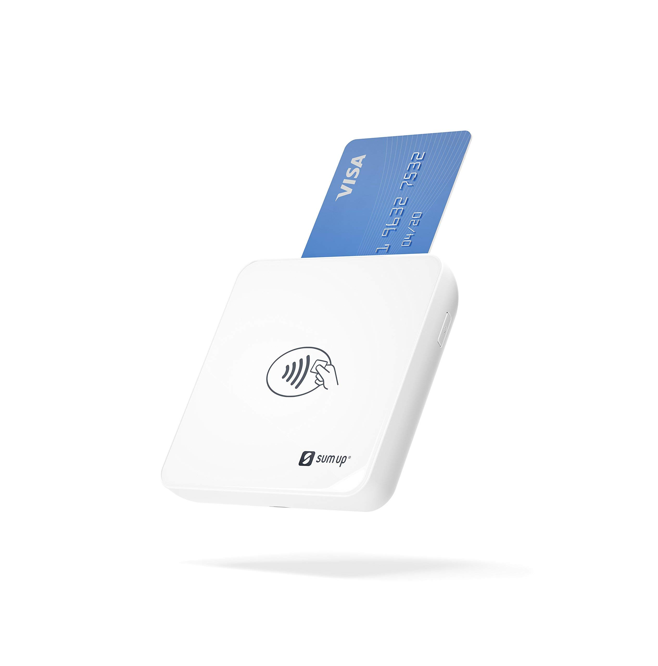 The SumUp Card Reader - Accepts All Forms of Card Payments: Debit, Credit, and Contactless (Renewed) by SumUp