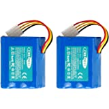 2Packs Creabest Upgraded 7.2V 4500mAh Ni-Mh Battery Compatible with Neato XV-11 XV-12 XV-14 XV-15 XV-21 XV-25, XV…