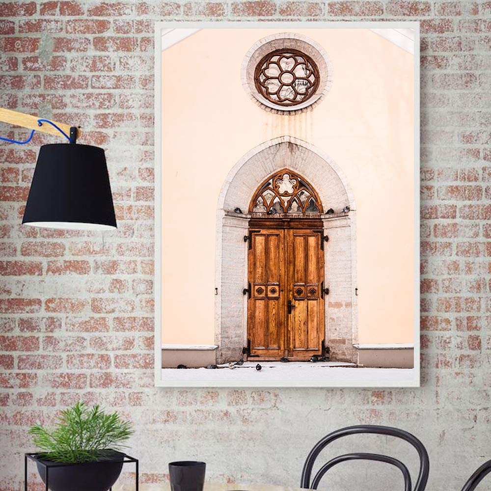 adgkitb canvas Puerta Vintage Pared Arte Lienzo Marruecos e ...