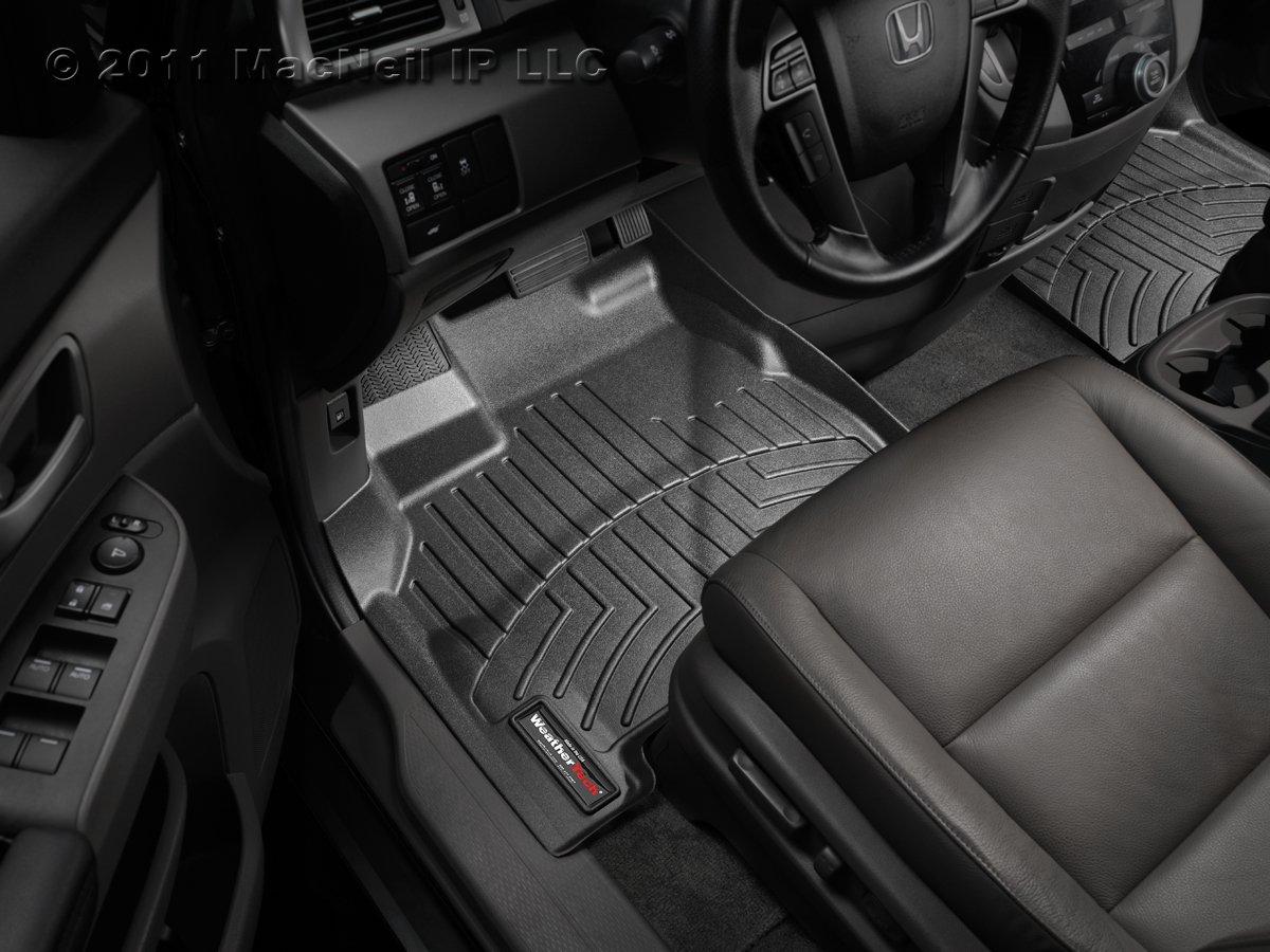 WeatherTech Custom Fit Front FloorLiner for Mazda5 Black 443511