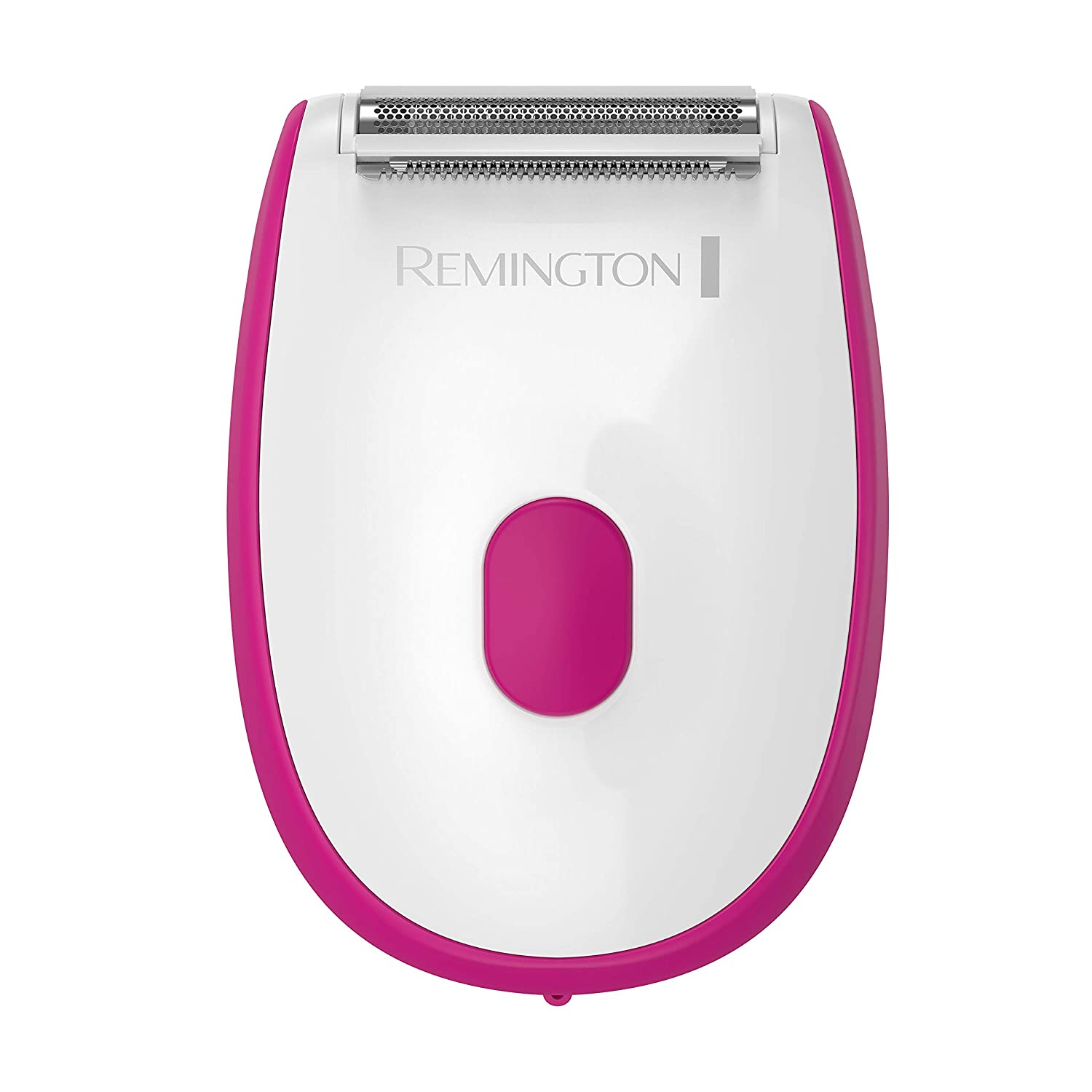 Smooth & Silky Shaver for Women, Wet/Dry Razor with Hypoallergenic Foil - White/Red
