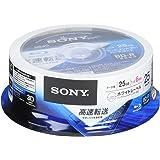 SONY データ用ブルーレイディスク 25BNR1DCPP6(BD-R 1層:6倍速 25枚パック)