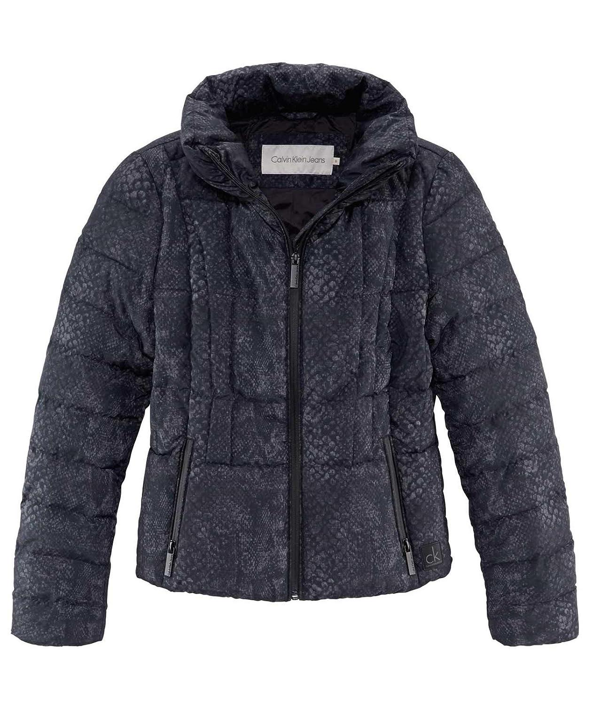 Calvin Klein Amber Printed Heather HD Jacket-Abrigo Mujer, : Amazon.es: Ropa y accesorios