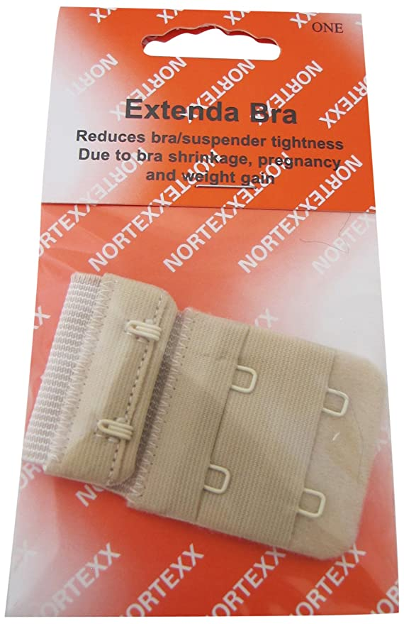 Nortexx - Alargador de sujetador, 38 mm, color Color beige: Amazon.es: Hogar