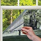 Gila Heat Control Platinum Adhesive Residential DIY Window Film Sun Blocking Glare Reduction 4ft x 15ft (48in x 180in)