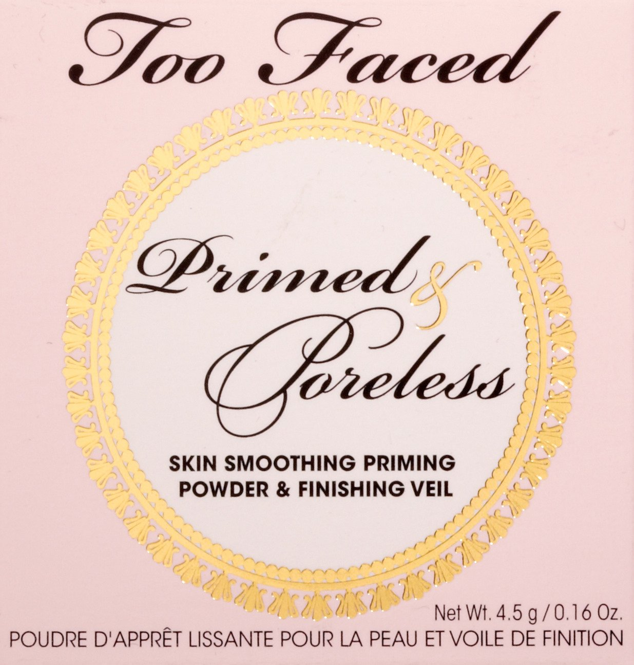 Too Faced Cosmetics Primed and Poreless Powder, 0.16 Ounce