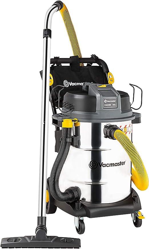 VACMASTER - Aspiradora Industrial Resistente con Filtro HEPA (50 L ...