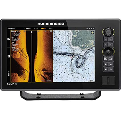Amazon com : Humminbird, SOLIX 10 Chirp DS/MDI GPS G2 CHO