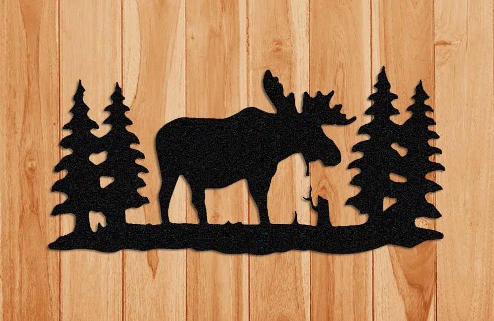 Clingermans Textured Moose Wall Hanging
