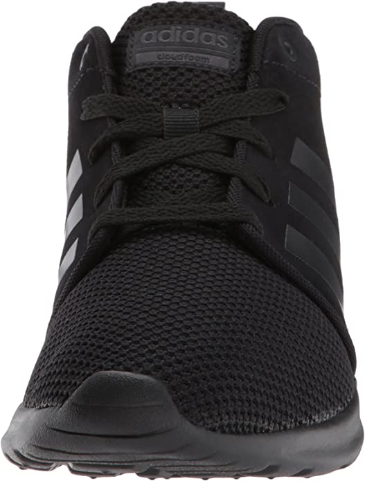 adidas NEO Women's CF QT Racer Mid W Running-Shoes, Grey Two/Grey Three/Crystal White