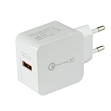 Tecnan Quick Charge 3.0 USB cargador adaptador de ...