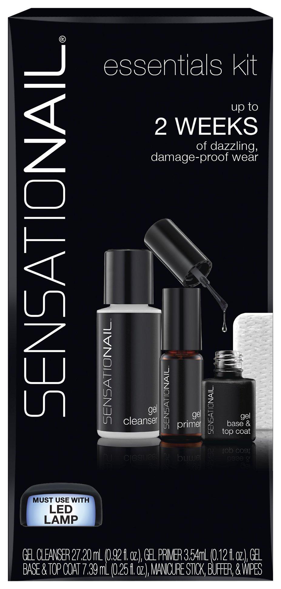 SensatioNail Gel Polish Essentials Kit, 1.29 Fl Oz ( 35.09 Ml)