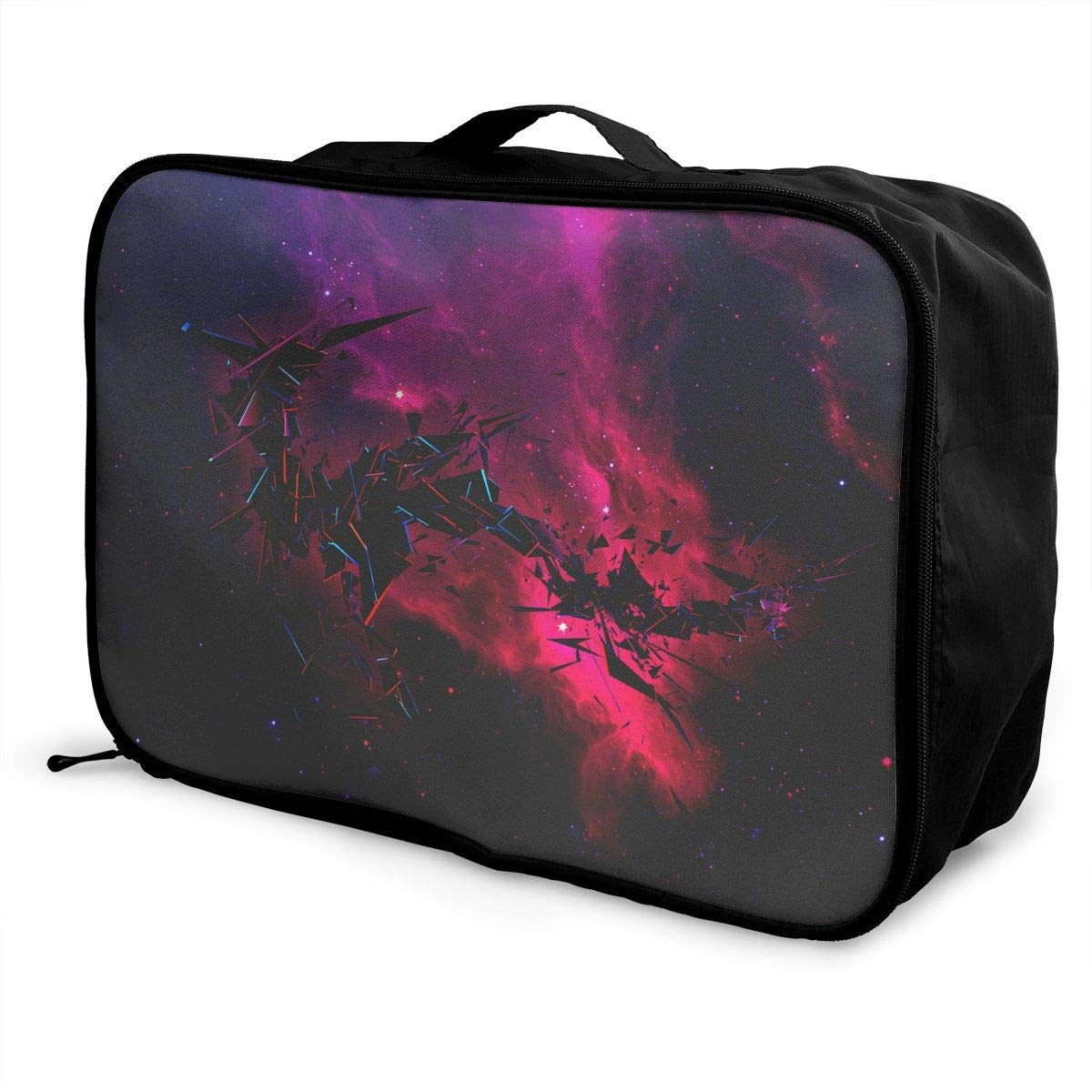 Lightweight Large Capacity Portable Duffel Bag for Men /& Women Galaxy Space Travel Duffel Bag Backpack JTRVW Luggage Bags for Travel