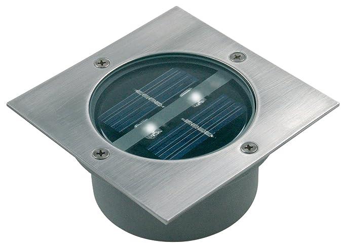 Bekannt Ranex 5000.198 LED Solar Bodeneinbaustrahler, 4-eckig: Amazon.de ER27