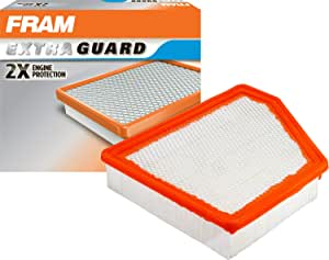 FRAM Extra Guard Air Filter, CA10690 for Select Chevrolet Vehicles
