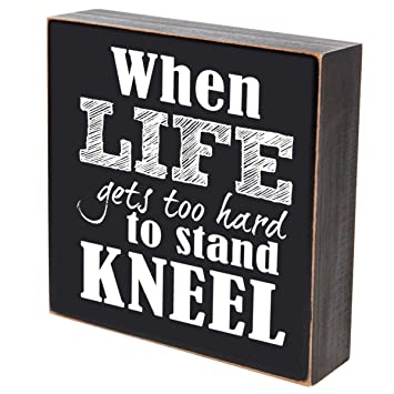 Amazoncom When Life Gets Too Hard To Stand Kneel Wedding