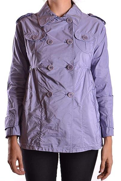 ASPESI Luxury Fashion Donna MCBI18792 Viola Cappotto