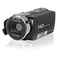 """Powerlead Videocamera Digitale Camcorder con Schermo da 2.7"""", Fotocamera da 24MP, 1080P FHD Full HD, Zoom Digitale 16X, Leggera e Compatta (312-A)"""