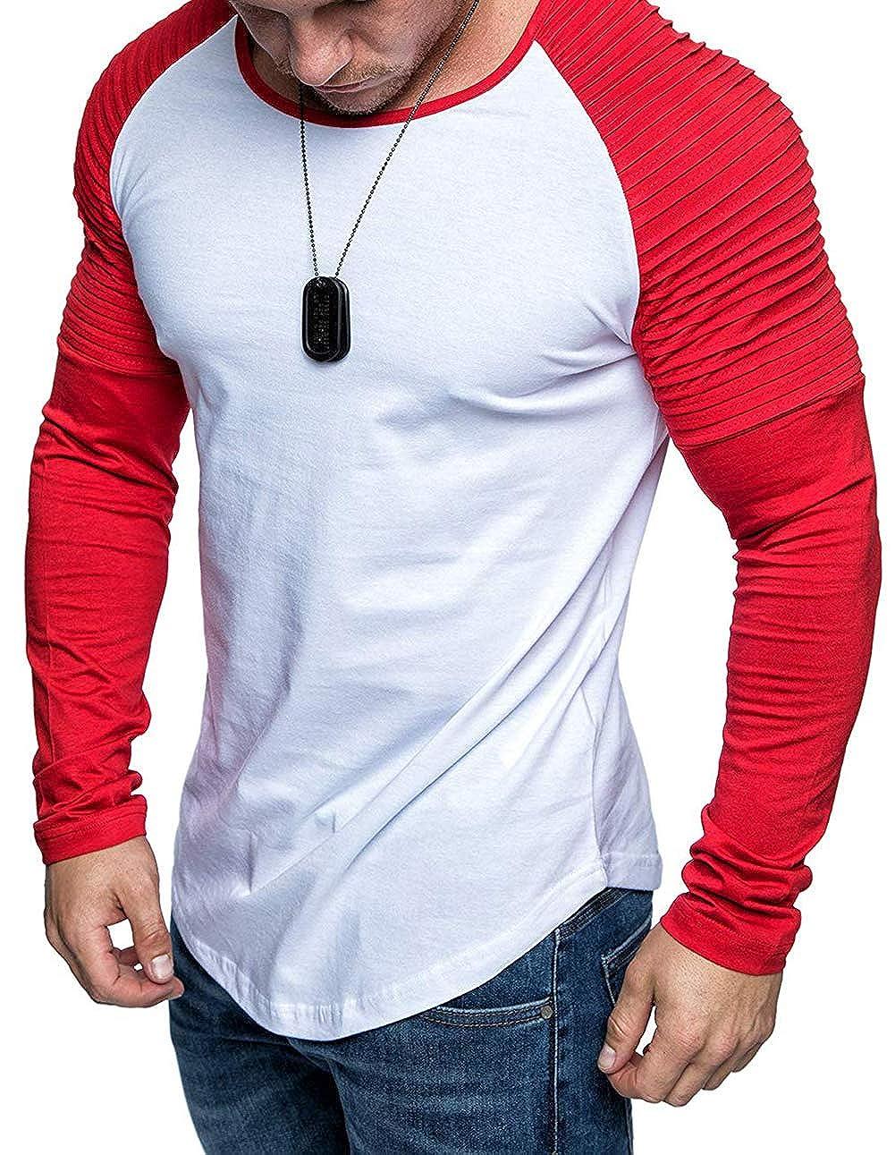 Amazon.com: XARAZA - Blusa de manga larga para hombre ...