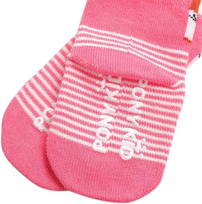 URMAGIC 5 Paires Coton Chaussettes B/éb/é Enfant Gar/çon Fille Pur Doux Color/ée motif Animaux 0-3 Ans