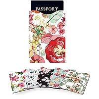 Magiin - Fundas protectoras antirrobo para tarjetas de crédito y pasaporte (5 tarjetas de crédito, 1 pasaporte, 6…