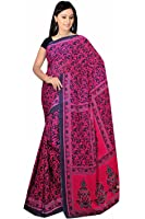 Bollywood mousseline de soie sari Carnaval Orient Inde Fo336