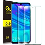 KuGi for Huawei P smart 2019 Screen Protector, HD clear Easy & Bubble Free Installation Tempered Glass Screen Protector Designed for Huawei P smart 2019 smartphone. Clear[2 PACK]