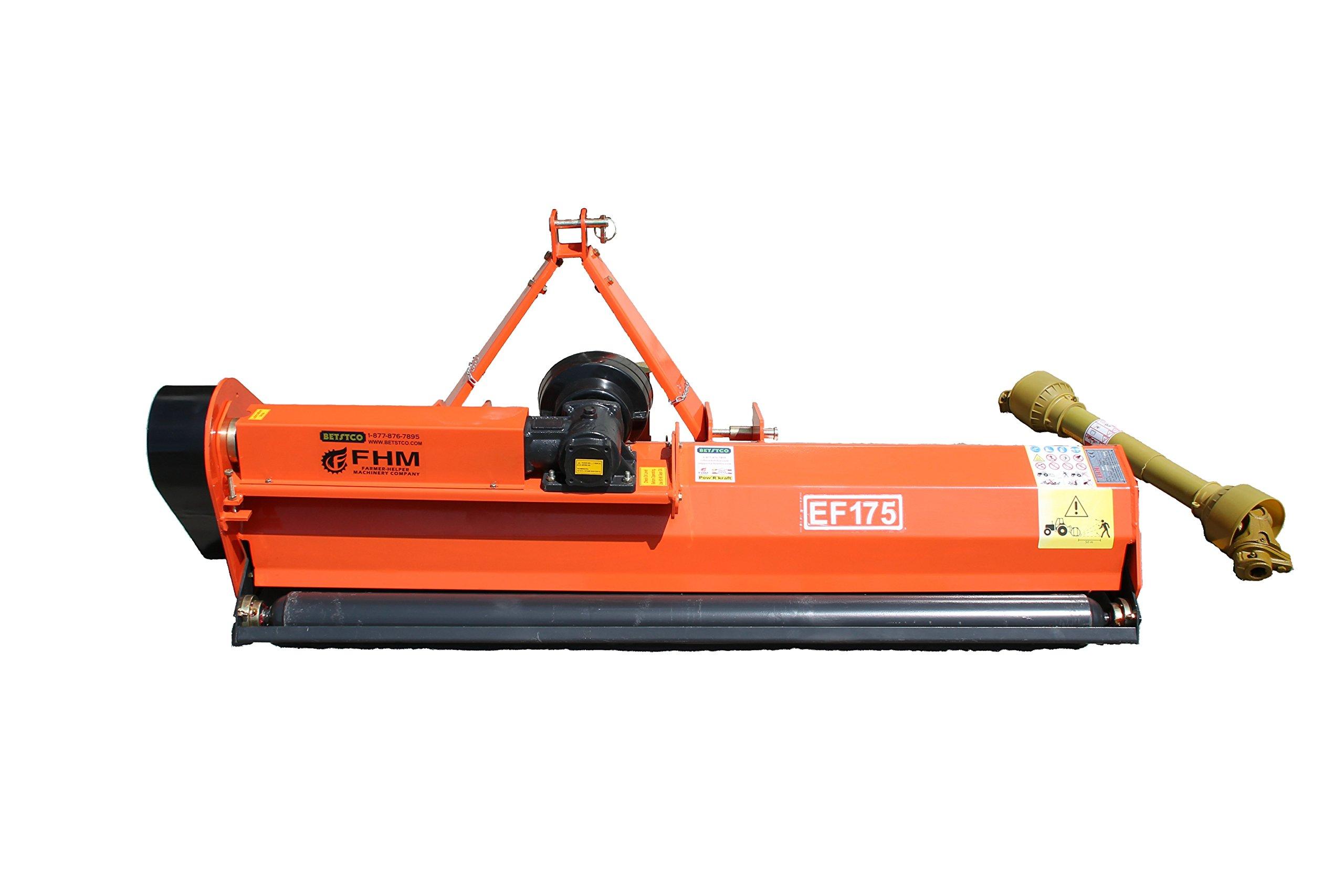 Farmer Helper 60'' Field Flail Mower Cat.I 3pt 28HP+ Rating (FH-EF175)