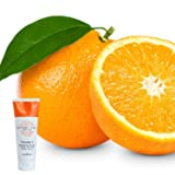 Anti Aging Face Wash Vitamin C Exfoliating Cleanser 6 Oz w/10% of Vitamin C- Reduction For Wrinkles and Lines-Green Tea,Cucumber,Tangerine and Sweet