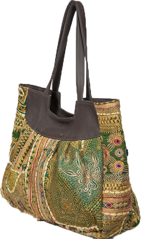 Jaipur Textiles Hub Women's Hand Bag ( Multi Coloured, JTH-118 )