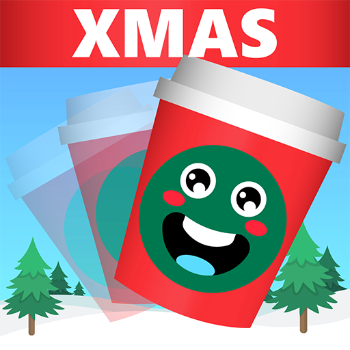 Red Cup Flip XMAS Challenge - Enjoy Christmas Coffee Cup Flipping Challenge: Get Bottle Sized Cup!
