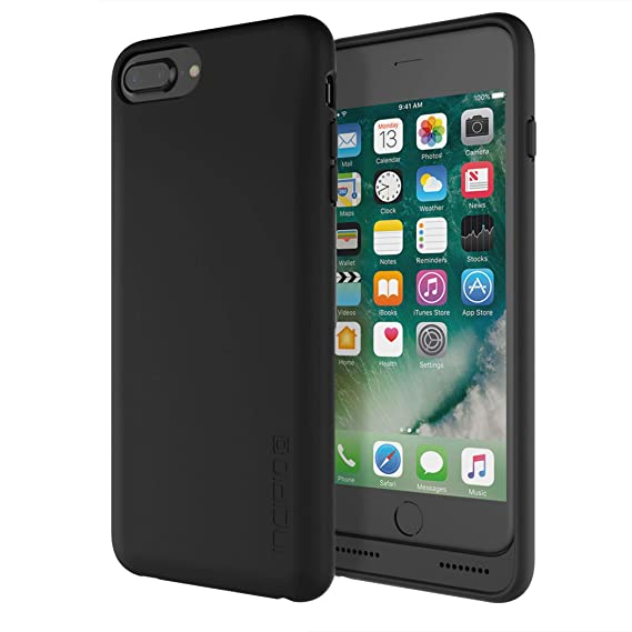 best service 970c6 b0593 Incipio Ghost Qi iPhone 7 Plus Case with Qi Wireless Charging and 3.5mm  Audio Port for iPhone 7 Plus - Black