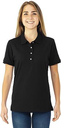 Jerzees Ladies' 5.6 oz., 50/50 Jersey Polo with SpotShield 437W