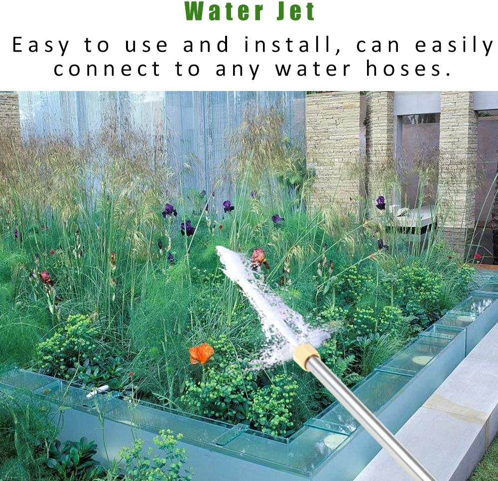 Honeytecs High Pressure Hing Washing Water Jet Garden Car House Cleaning Tool Cleaning Solution Suitable for Any Water Hose