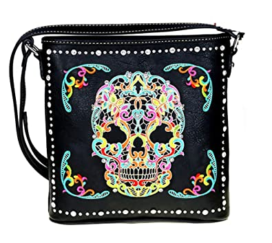 ab25606ab7af Image Unavailable. Image not available for. Color  MW494G-8287 Montana West  Sugar Skull ...