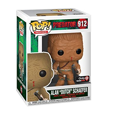 Funko Pop! Predator Alan Dutch Shaefer Final Scene Muddy Exclusive: Toys & Games