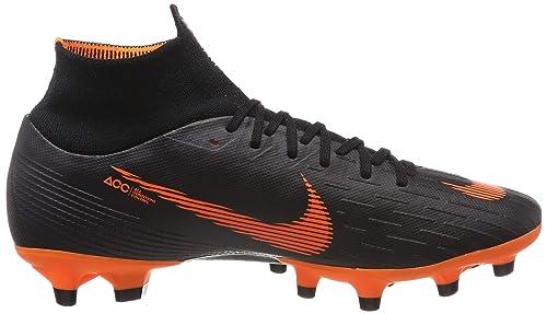 Nike Mercurial Superfly Vi AG-Pro, Zapatillas de Fútbol para Hombre, Negro Schwarz, 42 EU: Amazon.es: Zapatos y complementos